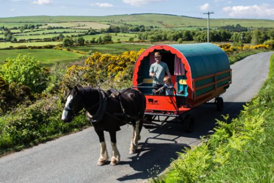 Irland Karte Pdf.Reitferien In Irland Zigeunerwagen Wicklow
